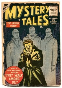 Mystery Tales #39 1956- Atlas horror comic- distributor return copy