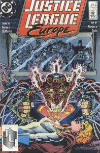 Justice League Europe #9, NM (Stock photo)