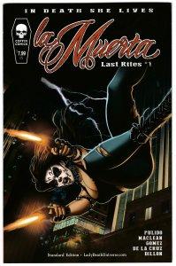 La Muerta Last Rites #1 Standard Edition (Coffin, 2016) NM