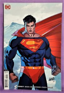 Rob Liefeld SUPERMAN #9 Mimimal Trade Dress Variant Cover (DC, 2019)!