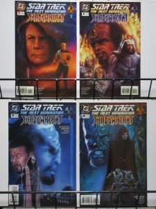 STAR TREK NEXT GENERATION SHADOWHEART (1994)1-4 complet