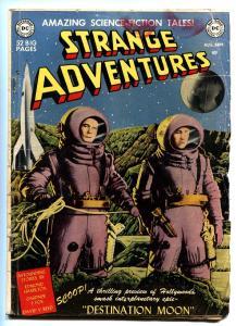 STRANGE ADVENTURES #1 comic book  1ST DC Science Fiction EDMOND HAMILTON