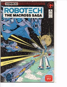Comico Comics Robotech The Macross Saga #13 Rick Hunter