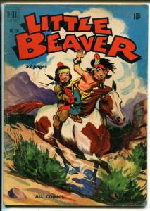 Little Beaver Four Color Comics #294 1950-Dell-Fred Harmon-Indian stories-VG