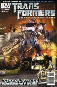 Transformers: Rising Storm #1 VF/NM; IDW | save on shipping - details inside