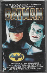 Batman (1989 movie novelization) -- Craig Shaw Gardner