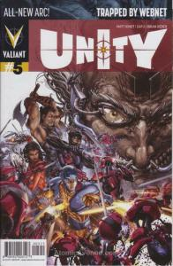 Unity (2nd Series) #5 VF/NM; Valiant | save on shipping - details inside