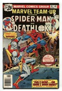 Marvel Team-up #46 1976 Spider-Man - DEATHLOK VF/NM