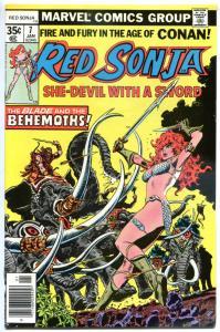 RED SONJA #7, VF/NM, Robert E Howard, She-Devil Sword, Frank Thorne,1977 1978