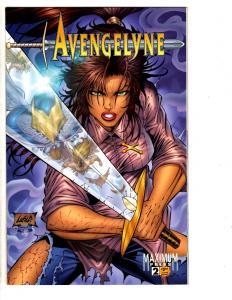 6 Avengelyne Maximum Press Comic Books # 2 3 4 5 6 7 Cybrid Divinity MS13