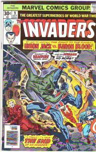 Invaders,The #9 (Oct-76) FN Mid-Grade The Human Torch