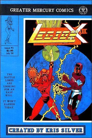 Legion X-2 (Vol. 2) #3 FN; Greater Mercury | save on shipping - details inside
