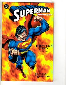 Superman Doomsday Complete DC Comics LTD Series # 1 2 3 Hunter Prey Batman J290