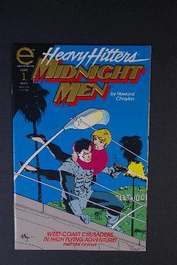 Midnight Men #1 by Howard Chaykin June 1993