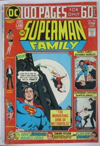 SUPERMAN FAMILY  #166 (DC) September, 1974 VERY GOOD  100 page giant classic
