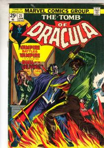 Tomb of Dracula #21 (Jun-74) VF/NM High-Grade Dracula