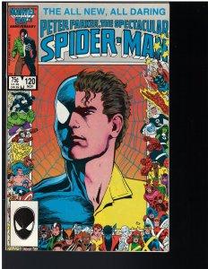 Spectacular Spider-man #120 (Marvel, 1986)