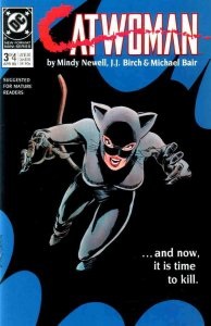 Catwoman (1st Series) #3 VF; DC | save on shipping - details inside