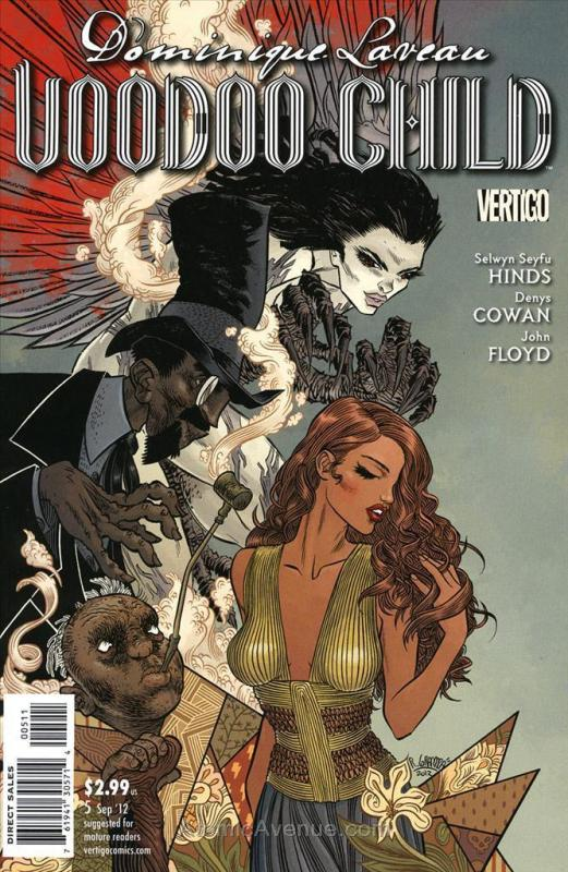 Dominique Laveau: Voodoo Child #5 VF/NM; DC/Vertigo | save on shipping - details