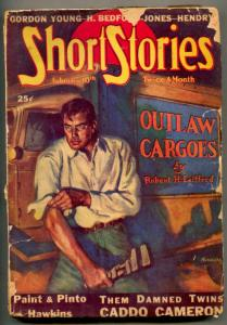 Short Stories Pulp February 10 1939- Outlaw Cargoes- Them Damned Twins
