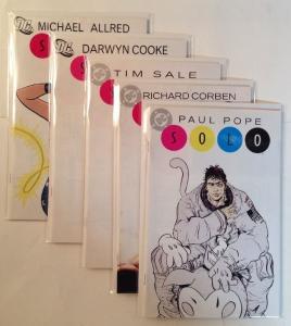 Solo Paul Pope Richard Corben Tim Sale Darwin Cooke Michael Allred VF/NM Lot Set