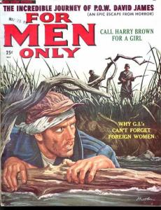 FOR MEN ONLY 1958 MAY-POWS/CALL GIRLS/NAZIS FN