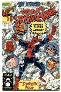 Web Of Spider-man #76 1991- Fantastic Four NM-
