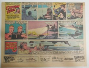 Captain Yank Sunday by Frank Tinsley from 8/12/1945 Size: 11 x 15 inches