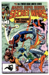 MARVEL SUPER HEROES SECRET WARS #3 1st Volana + Titania comic book