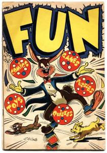 Fun #11-L.B. Cole Cover-Star pubs-Weird Golden Age funny animal