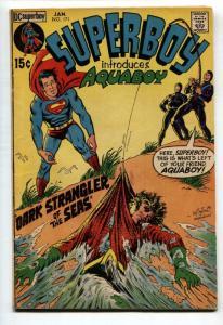 SUPERBOY #171 1971-Introduction of AQUABOY-comic book DC