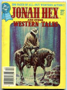 JONAH HEX & OTHER WESTERN TALES #2 1980--ADAMS-TOTH-DC VF