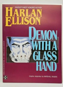 Demon With a Glass Hand 1986   DC Comics   Harlan Ellison Novel   TPB   NM