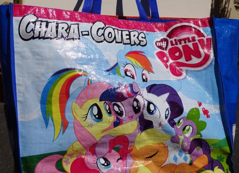 Promo BAG, My Little Pony / Minnions - Despicable Me, 20x23, Chara-Covers, Large