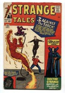 STRANGE TALES #122 JACK KIRBY-HUMAN TORCH-SILVER AGE-MARVEL 1964