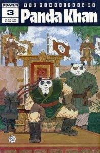 PANDA KHAN #3, VF+, Dave Garcia, Abacus, 1987 1988 more Indies in store