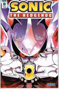 Sonic the Hedgehog  #9 cvr A (IDW)