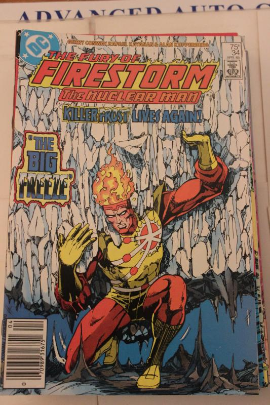 The Fury of Firestorm  34 9-0-vf-nm