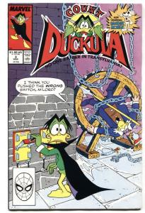 Count Duckula #3 1st appearance of DANGER MOUSE-Marvel