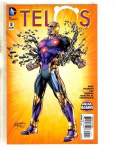 Telos # 5 NM 1st Print Neal Adams Variant Cover DC Comic Book TW64