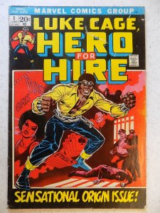 LUKE CAGE HERO FOR HIRE # 1 MARVEL BRONZE HOT 1ST APPEARANCE ORIGIN