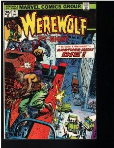 Werewolf by Night #21 (Marvel, 1974)