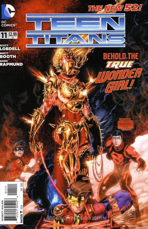 Teen Titans (4th Series) #11 VF; DC | save on shipping - details inside