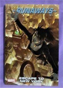 Brian K Vaughn RUNAWAYS Digest Vol 5 Escape to New York (Marvel, 2011)!