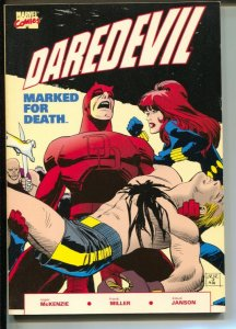 Daredevil: Marked For Death-Roger McKenzie-1990-PB-VG/FN