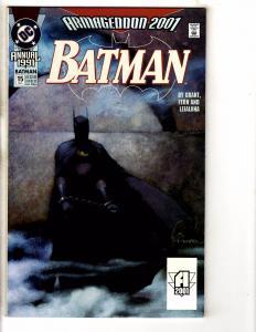 Lot Of 4 Batman DC Comic Book Annuals # 15 16 17 18 Gotham Robin Joker Ivy PP6