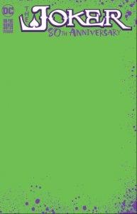 Joker 80th Anniversary #1 Green Blank Sketch Variant