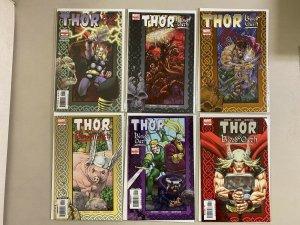 Thor Blood Oath Set #1-6 8.0 VF (2005)