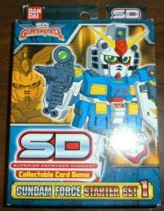 SD Gundam Force CCG Starter Set 1