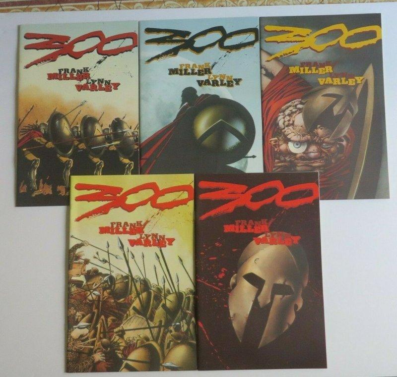 300 #1-5 Complete Set NM/MT 9.6-9.8 High Grade Dark Horse Comics Frank Miller